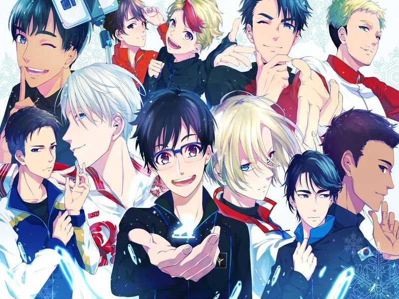 Yuri on Ice | Winter Olympics 2018 | Anime